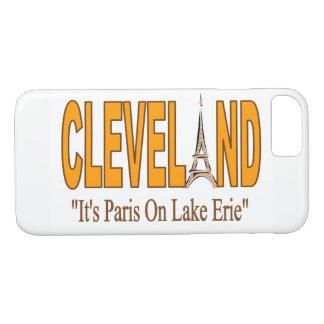 Cleveland, c'est Paris sur le cas de téléphone du Coque iPhone 7