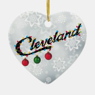 Cleveland en ornement de chemise de lumières LE