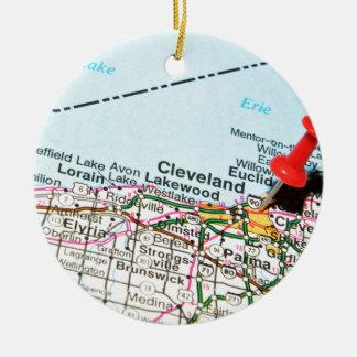 Cleveland Ornement Rond En Céramique