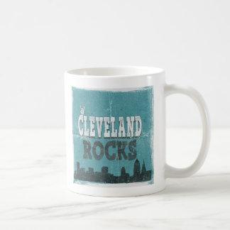 Cleveland vintage bascule la tasse de café