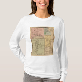 Cleves, courbure du nord, Ohio T-shirt