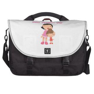 [clic à choisir] jour de mères heureux sac pour ordinateurs portables