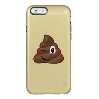Cligner de l'oeil la dunette Emoji Coque iPhone 6 Incipio Feather® Shine