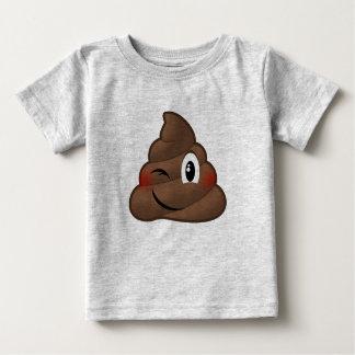 Cligner de l'oeil la dunette Emoji T-shirt Pour Bébé