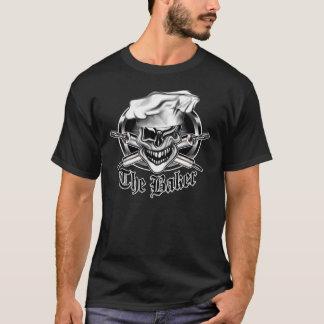 Cligner de l'oeil le crâne de chef t-shirt