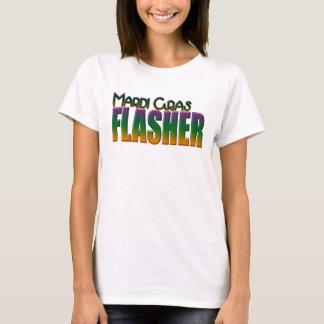 Clignoteur de mardi gras t-shirt
