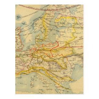 Climat de carte de l'Europe
