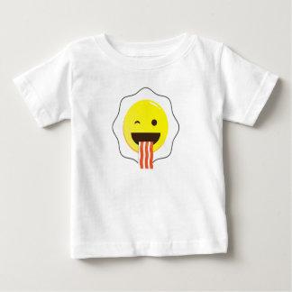 Clin d'oeil d'oeufs et de lard t-shirt pour bébé