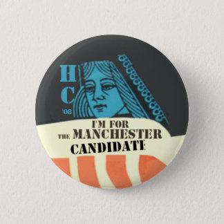 Clinton le bouton de candidat de Manchester Badge