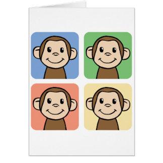 Clipart (images graphiques) de bande dessinée avec cartes de vœux