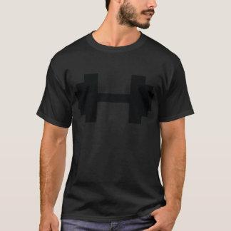 cloches de décharge de culturisme t-shirt