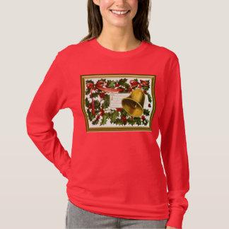 Cloches de houx et de Noël T-shirt