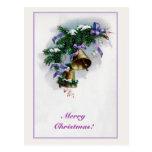 Cloches et décoration de Noël vintages Cartes Postales
