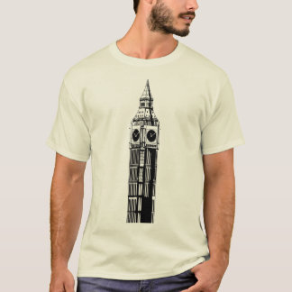 Clock tower in Londres, England T-shirt