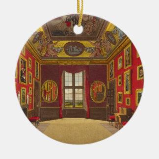 Closet du Roi, château de Windsor, 'de recherche Ornement Rond En Céramique