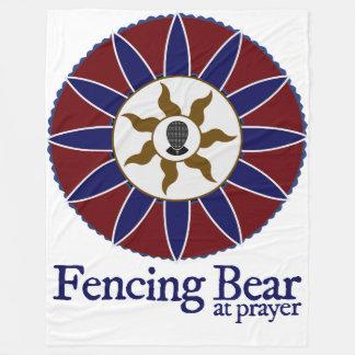 Clôture de l'ours à la couverture de prière