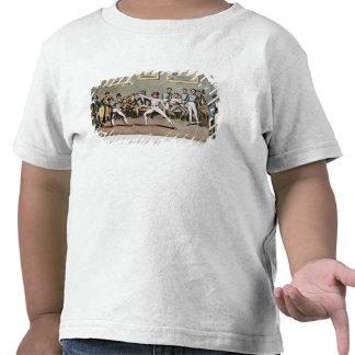 Clôture : L'admiration de Jerry de Tom dans un T-shirt