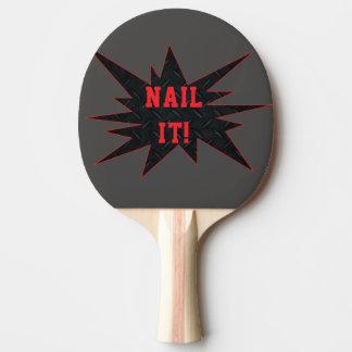 CLOUEZ-LE ! Palette sensationnelle drôle de Raquette Tennis De Table