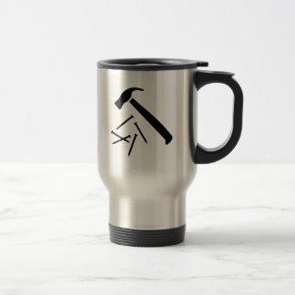 Clous de marteau mug de voyage
