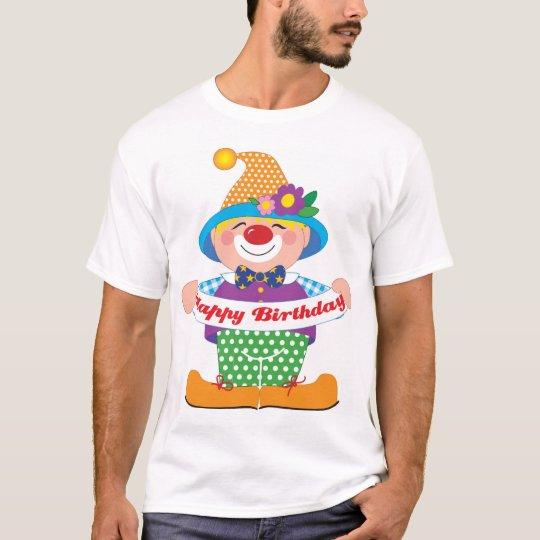 Clown d'anniversaire t-shirt