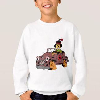 Clown dans la voiture sweatshirt