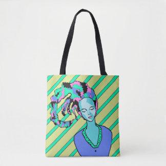 Clown de sommeil Dawing Tote Bag