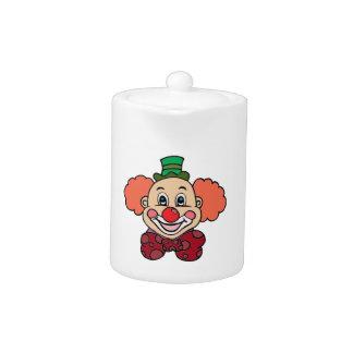 Clown heureux de visage