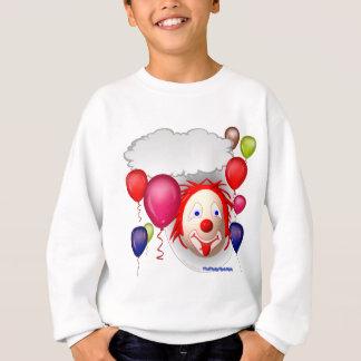 Clown parlant d'anniversaire sweatshirt