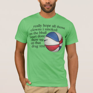 clowns de tabagisme t-shirt
