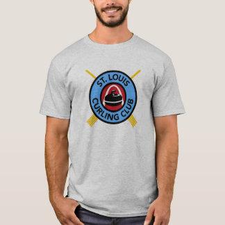 Club de bordage de St Louis des hommes T-shirt