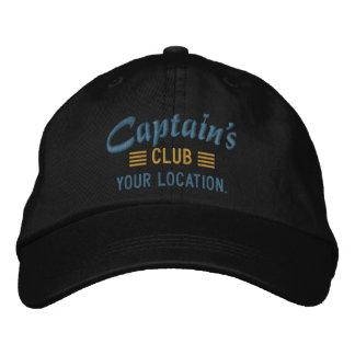CLUB de capitaine personnalisez-le a brodé le Casquette Brodée