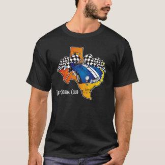 Club de cobra du Texas - chemise foncée T-shirt