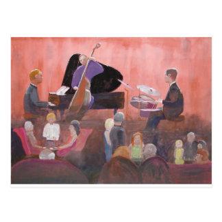 Club de jazz cartes postales