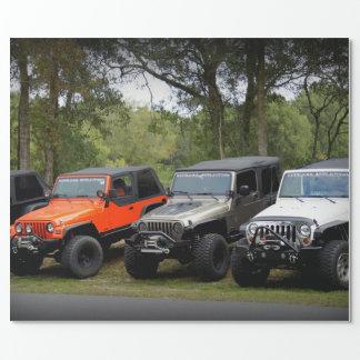 Club de jeep papier cadeau