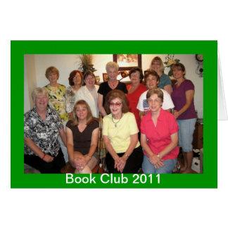 Club de lecture cartes de vœux