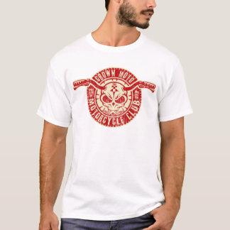 Club de Moto (rouge vintage/crème) T-shirt