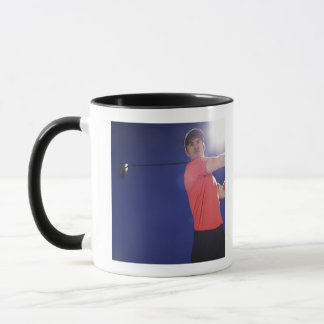 Club de oscillation de joueur de golf mug