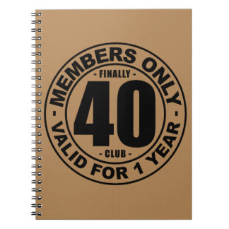 Club enfin 40 carnets à spirale