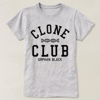 Club noir orphelin de clone t-shirt