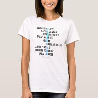 Club orphelin de clone du noir   - anagramme t-shirt