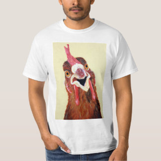 Clucky le T-shirt de poulet
