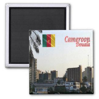 Cm - Le Cameroun - Douala le capital économique Magnet Carré