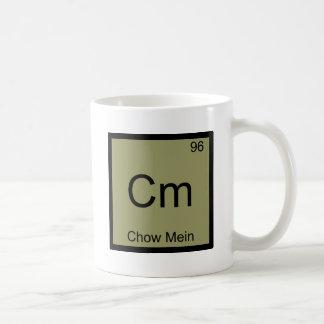 Cm - Pièce en t drôle de symbole d'élément de Mug Blanc