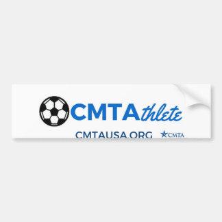 CMTAthlete (le football) Autocollant De Voiture