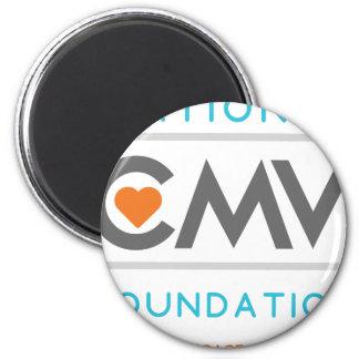 CMV plein Tagline [4] Magnet Rond 8 Cm
