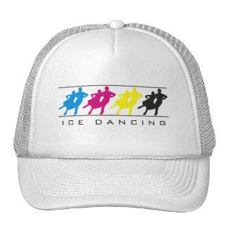CMYK - Chapeau de silhouette de danse sur glace Casquettes De Camionneur