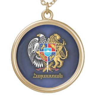 COA 2 de l'Arménie Collier Plaqué Or