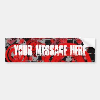 COAlitionz. Message personnalisable Autocollant De Voiture