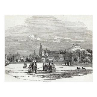 Cobourg, gravé par W.J. Linton Carte Postale