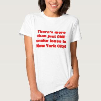 Cobra lâche d'Egyptien de zoo de Bronx T-shirt